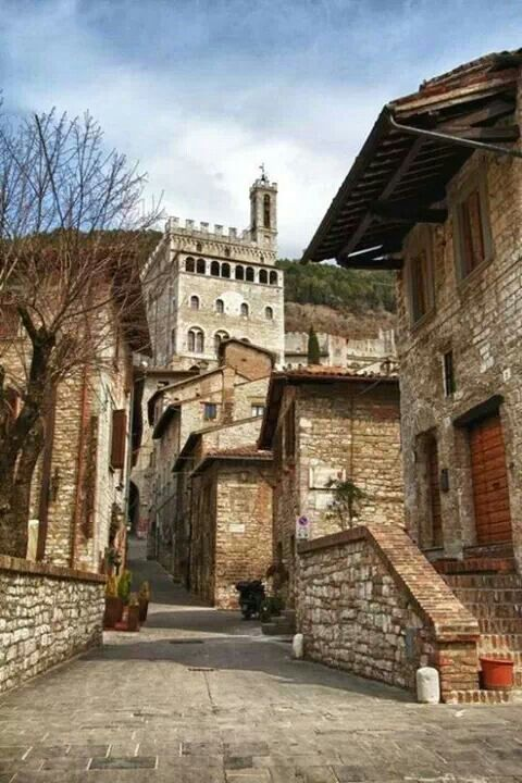 Gubbio. Perugia district This is town where Don Matteo is filmed