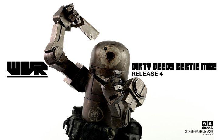 #transformer 3A Announce Dirty Team v2 Betty Robot 4th!