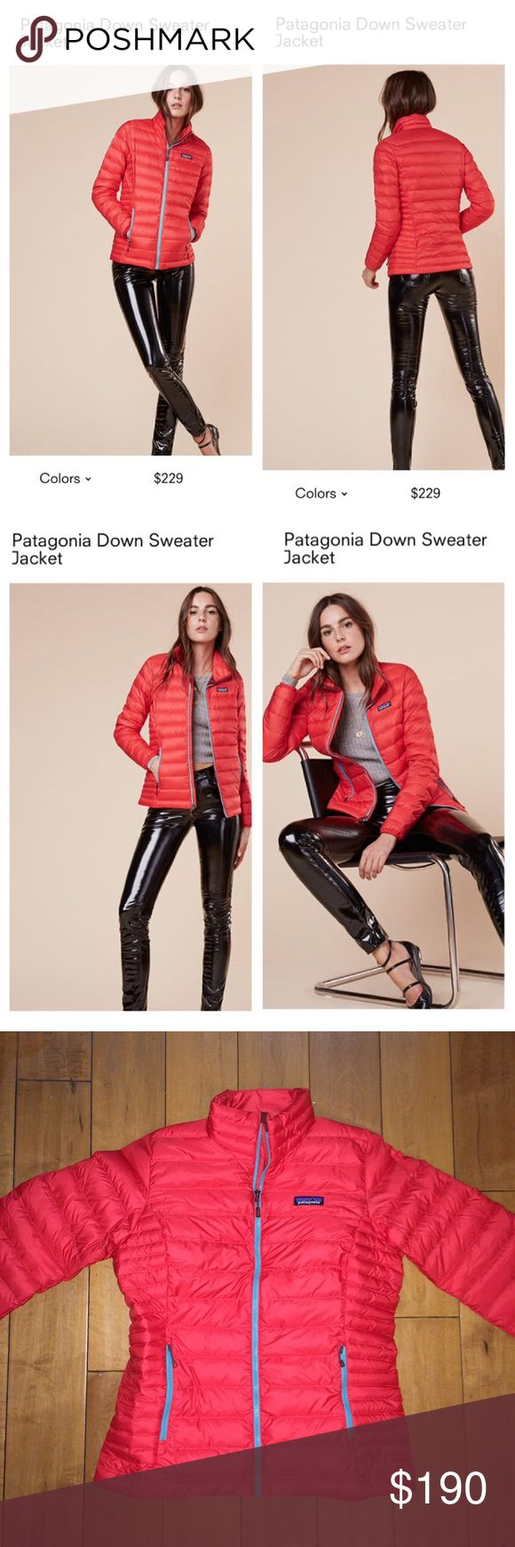 Brand New Patagonia Down Sweater Jacket Brand New Patagonia Down Sweater Jacket, NWT size M  Store price $229  #patagonia #patagoniajacket #patagoniadownsweaterjacket #jacket #sweaterjacket #reformation Patagonia Jackets & Coats Puffers