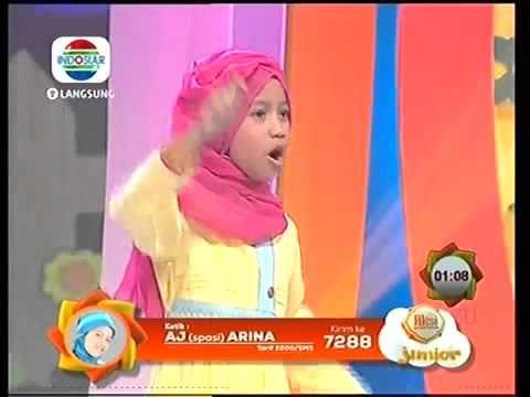 Aksi Junior ARINA KEDIRI Kelompok Fathanah 4 Juli 2014
