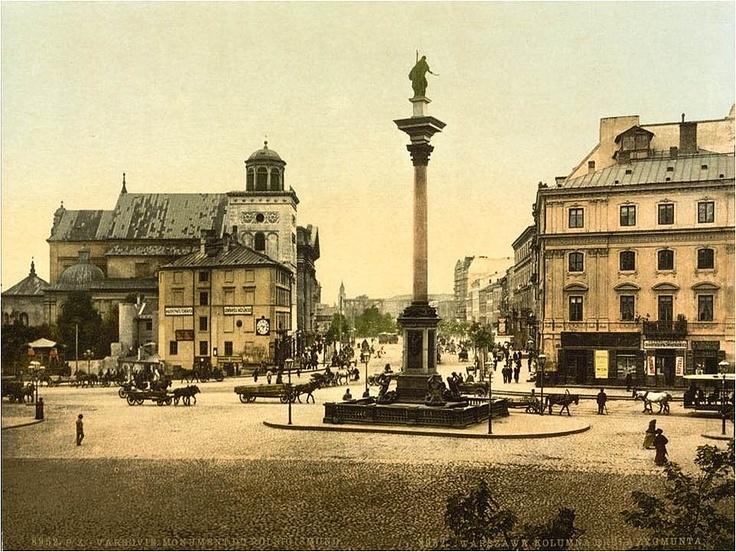 Warsaw - vintage postcards