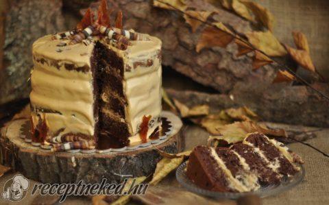 Tábortűz torta recept fotóval