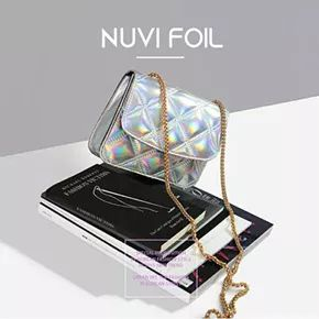 Nuvi Foil / Tas Wanita / Women Handbag / Korea / Import / PoMM Korea