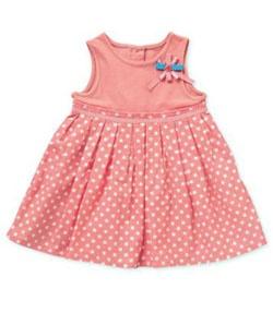 Spot Jersey Dress