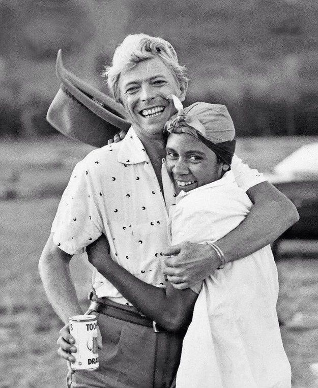 Here's How David Bowie Fought For Indigenous Rights with Joelene King on the set of His    1983 Lets DANCE,Hit Video Shot in here in Australia
