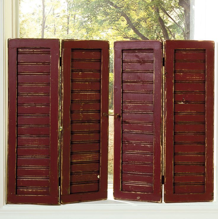 17 Best Images About Diy Shutters On Pinterest Shutter Wall Primitive Crafts And Window