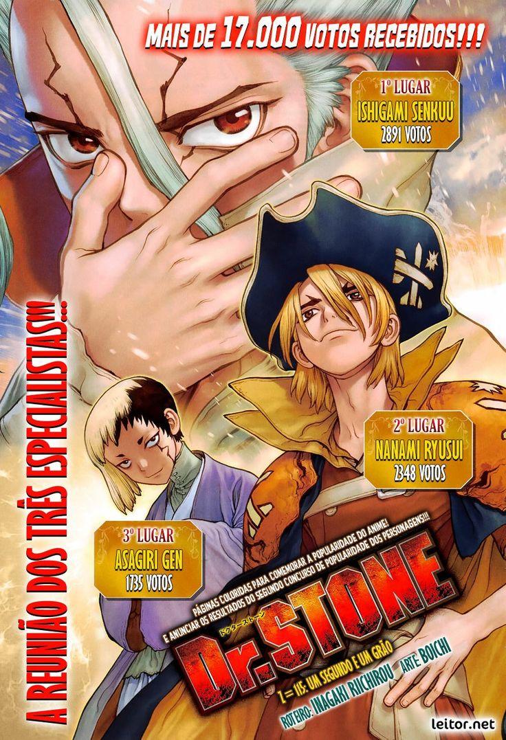 Dr Stone_115_2 Ranking em 2020 Anime, Arte, 1