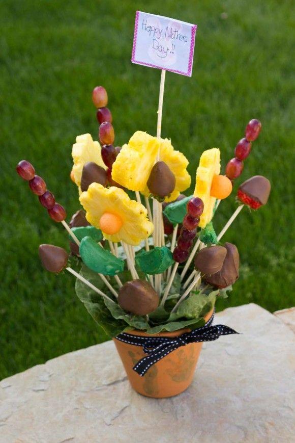 98 best Edible Bouquets images on Pinterest   Edible bouquets ...