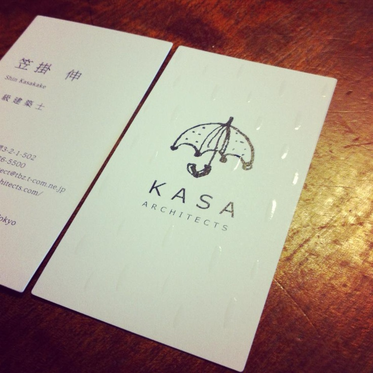 Architect Cards business card for japanese architect | m and t | pinterest