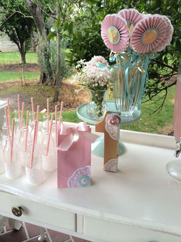 Rosette Favor Bags by Sweet Soirees (www.sweet-soirees.com.au)