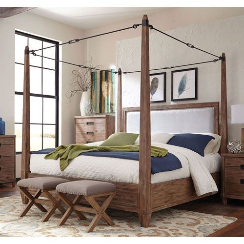 33 Canopy Beds And Canopy Ideas For Your Bedroom: 498 Best Design Trend: Rustic-Modern Images On Pinterest