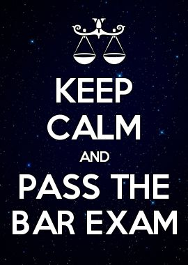 Passing Bar Exam Clip Art