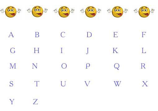 игры для обучения английскому алфавиту
