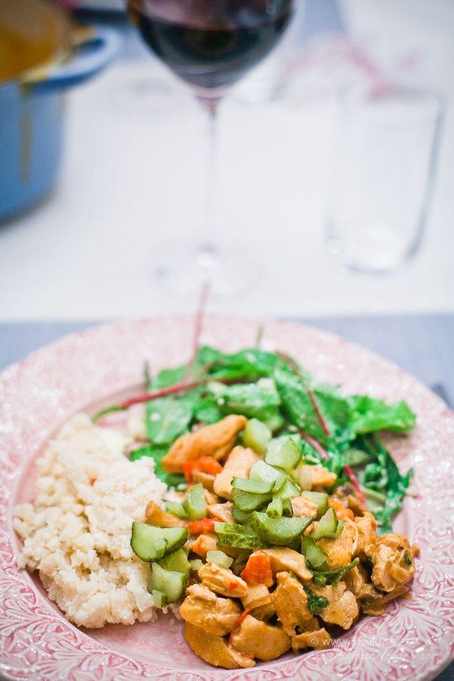 Kyckling Stroganoff - 56kilo - inspiration, hälsa och matglädje