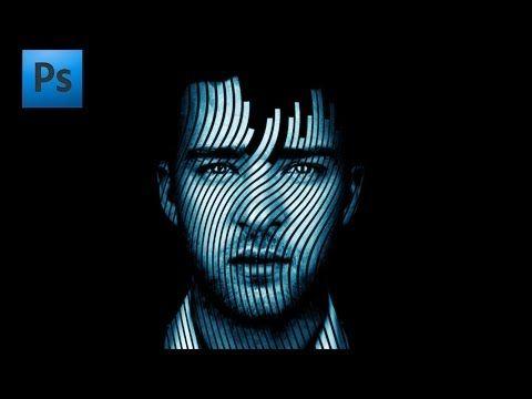 Adobe Phtoshop Tutorial - Wave Music Effect - YouTube