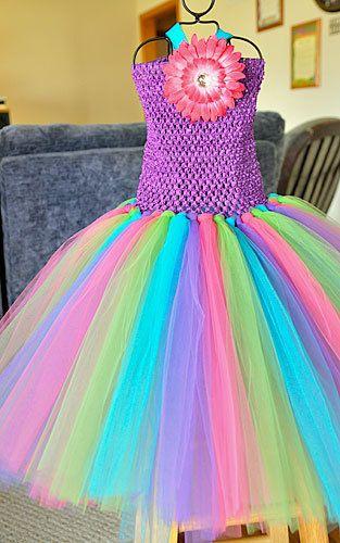 Custom tutu dress you chose everything!: Custom Tutu, Dresses Up, Chose Everything, Fairies Dresses, Rainbows Dresses For Girls, Tutu Dresses, Small Dogs Costumes, Chose Color, Color Tutu