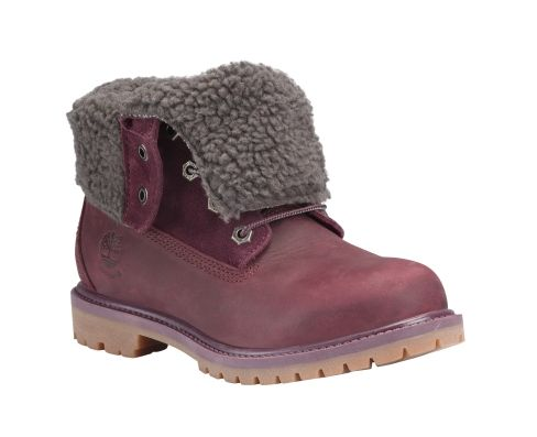 Women's Timberland Authentics WP Fold-Down Boot ... I wouldn't fold them down. Great color & waterproof!