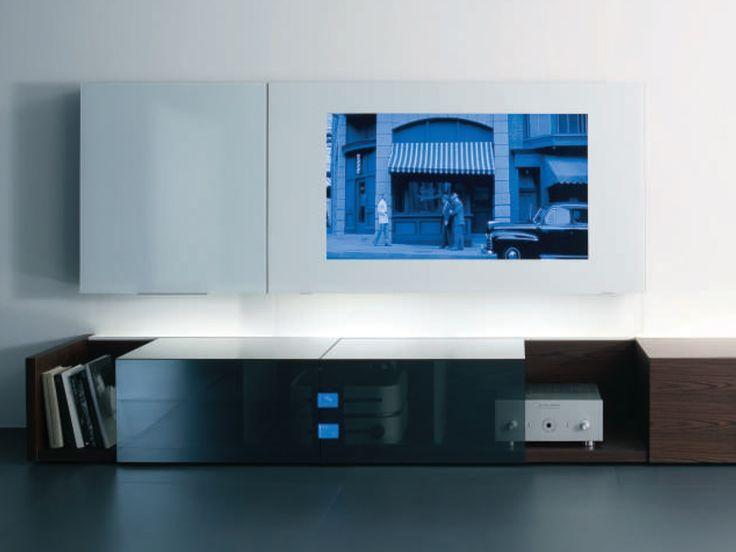 MOBILE TV IN CRISTALLO GROUND CASE COLLEZIONE NEW CONCEPTS BY ACERBIS  INTERNATIONAL | DESIGN MASSIMO CASTAGNA | Arredamento | Pinterest | TVs, ...