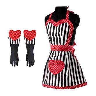 http://www.delamaison.fr/tablier-gant-vaisselle-polyester-coton-avec-motif-coeur-blanc-noir-p-151051.html