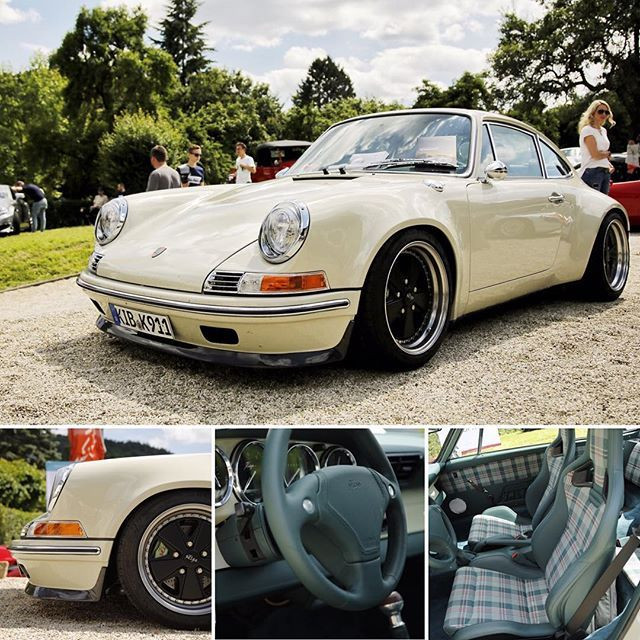 Piece of art. The Kaege Retro. Modern Classic based on a 993. #porsche…                                                                                                                                                                                 More