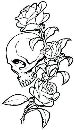 another skull tattoo i love