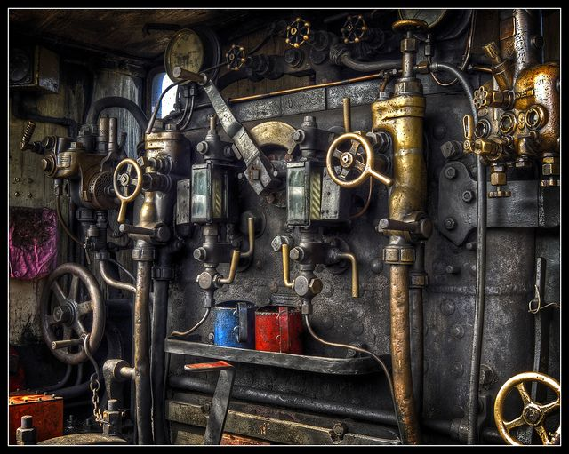 Steam Engine Controls