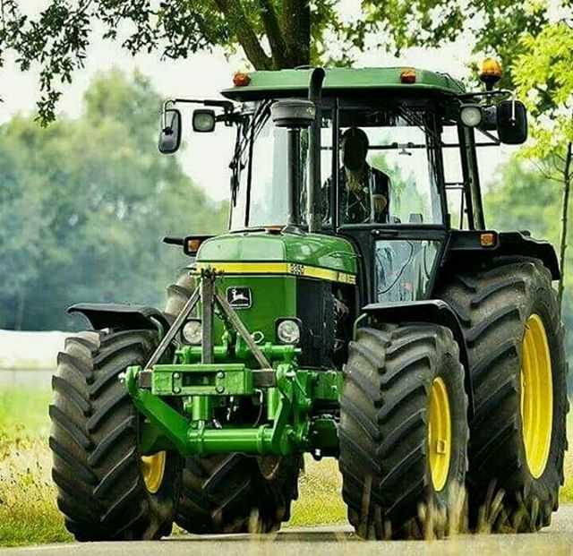 Handsome John Deere.