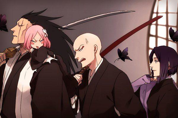 Bleach// Zaraki,Yachiru,Ikkaku and Yumichika