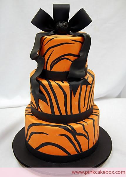 Tiger cake, he'd kill me