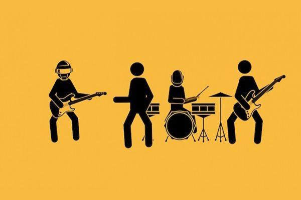 Hilarische animatie: pictogram-poppetjes doen Get Lucky