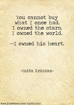 """""""You cannot buy what I once had. I owned the stars. I owned the world. I owned his heart."""" #writing #prompts"""