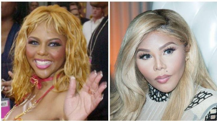 Some of these are obviously aging, but I don't think that's what's going on with Lil' Kim...