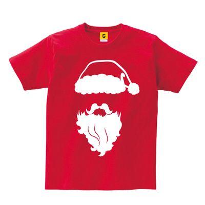 サンタクロースフェイスTシャツ