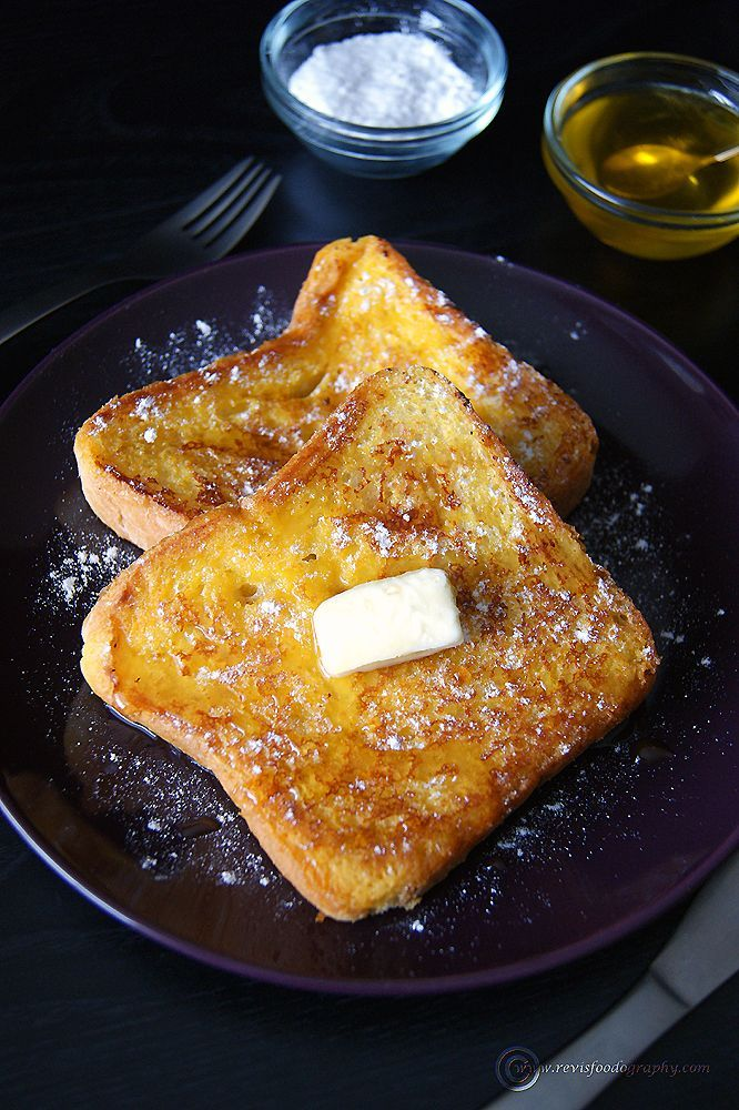 The perfect French Toast with NO Eggs. Tastes just like a authentic French Toast or even better.    *Vegans can skip the butter and use non-Dairy milk.