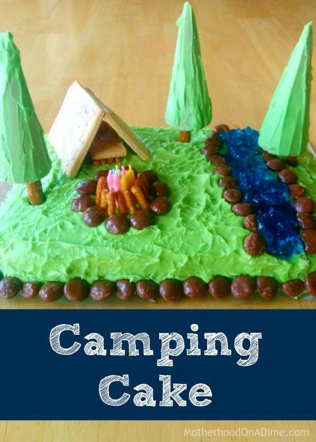 Easy DIY Camping Cake (Version 2.0)