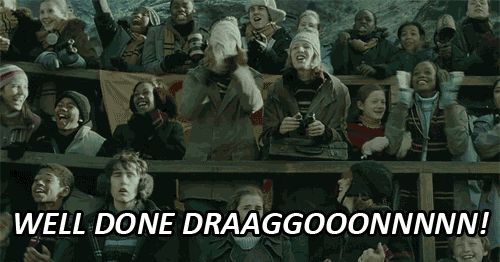 Doing a school project about dragons? Awesome. Doing a school project against dragons? Super scary.
