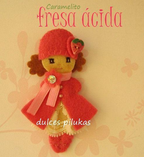 Colección CARAMELITOS   Es divertida y refrescante,   cada muñequita, es un caramelito con un sabor diferente,   hay muchos...C...