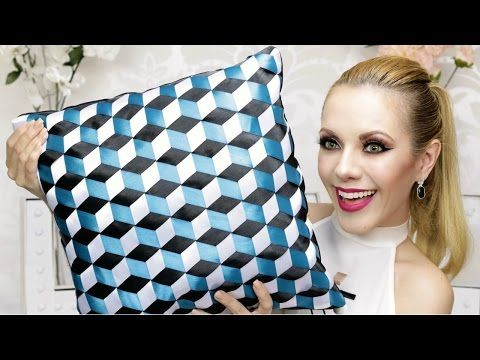 DIY COJIN DECORATIVO CON EFECTO 3D! / 3D EFFECT PILLOW DIY! - YouTube