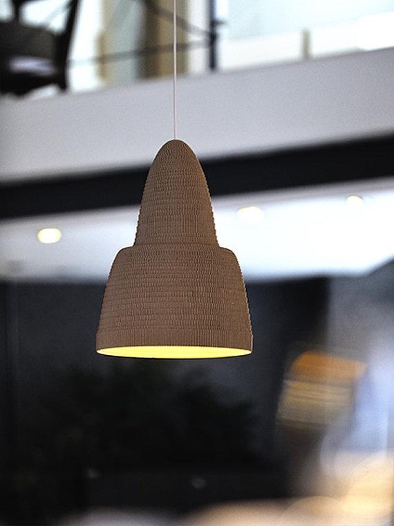 Superb Cardboard Lamp Design Inspirations