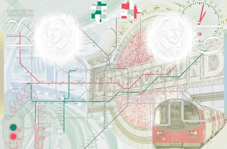 This tube map, to appear in new British passports, has London Bridge in the wrong place, and omits Southwark altogether. Image: the Home Office