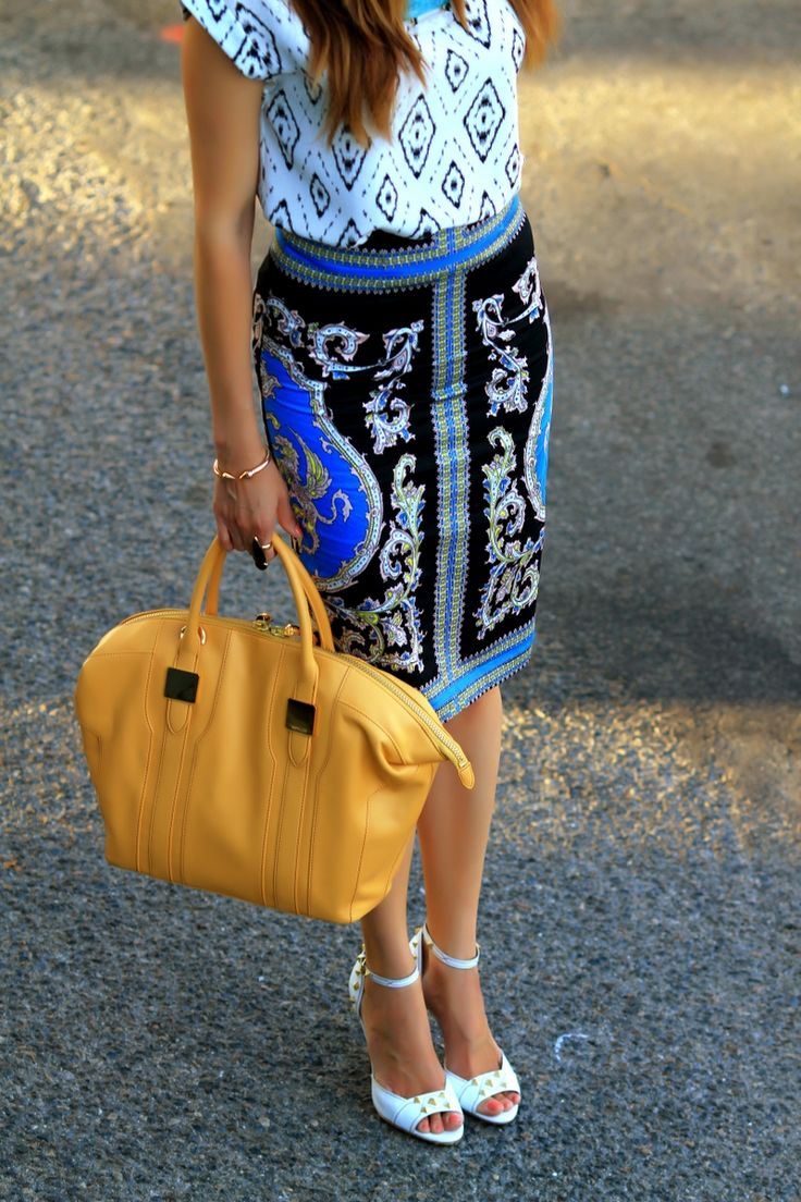 Mixing Prints | FASHIONED|CHIC