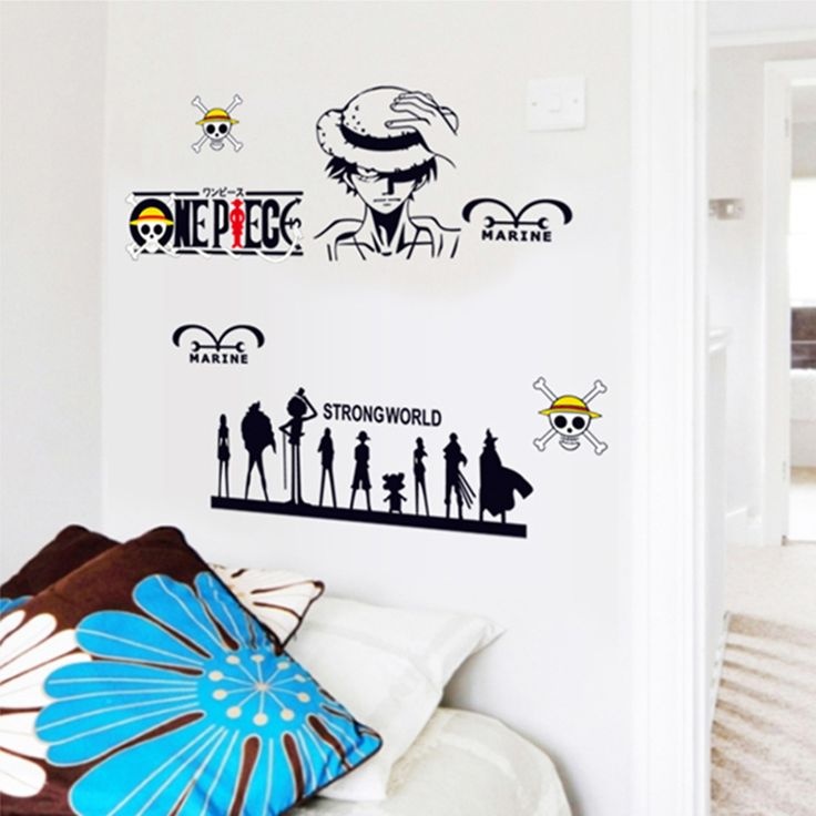 One Piece Home Decor Wall Decal //Price: $11.00 & FREE Shipping //     #onepiece #onepieceanime #dluffystore