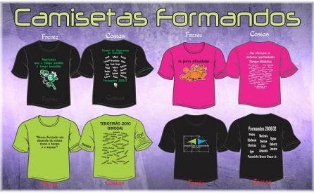 Camisetas  Formandos 2017 (Melhores ideias!!!)