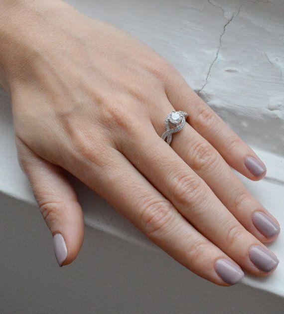 1.25ct Brilliant Cut Engagement Ring