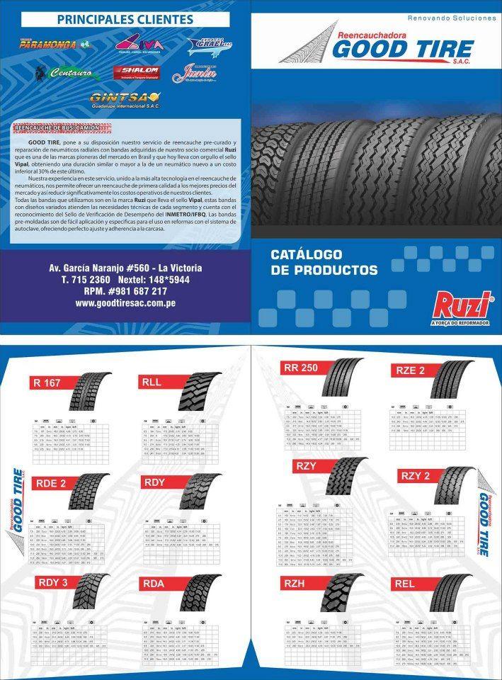 Catálogo - Good Tire