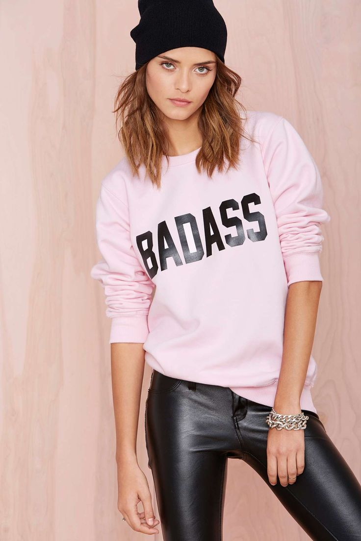 $78 Local Heroes Badass Sweatshirt | Shop What's New at Nasty Gal