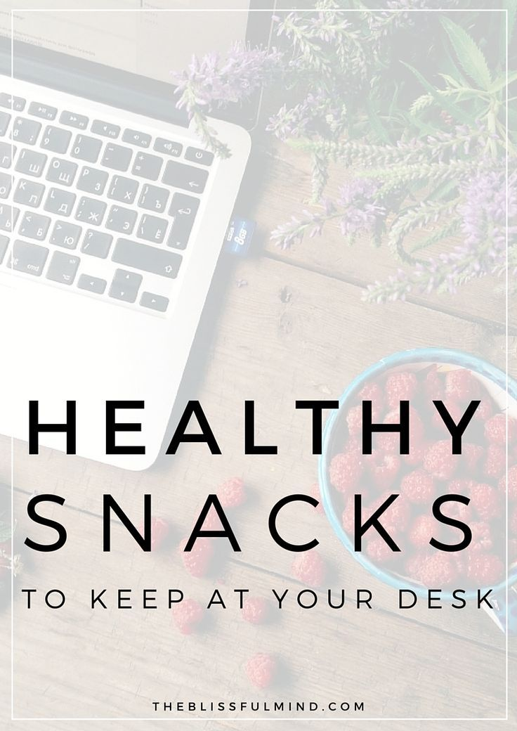 Whether you work from home, in an office, or somewhere where you're running around all day, here are some healthy snack ideas for your desk or bag so you can grab them whenever you're feeling peckish! #eatclean #snacks