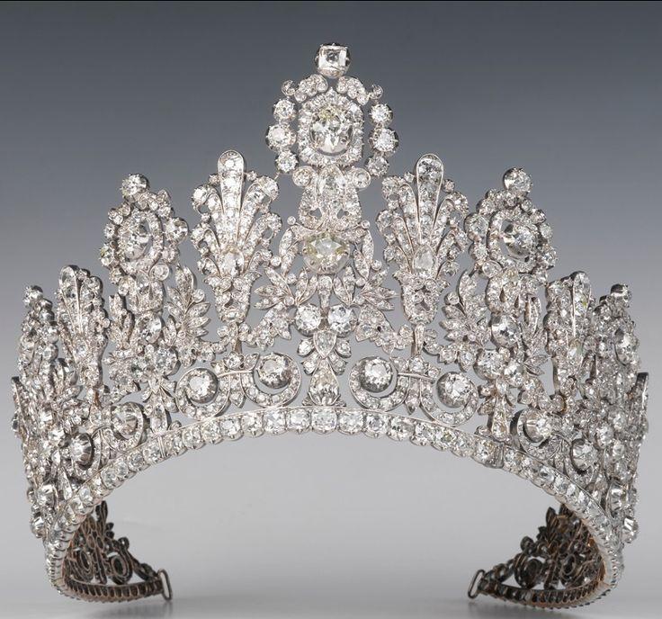 Diamond Luxembourg Empire Tiara
