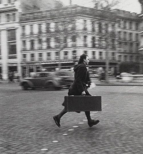 A musician?  Paris 1946 Photo: Robert Doisneau