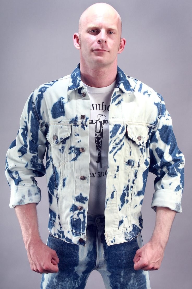 """In Stock: The Bleacher Denim Jacket: £45  The famous bleachers denim jacket!  These are only available in the 'poured' option, in blue denim and are a true skinhead fashion item.  Available in 36"""" chest.  Find out more…http://bit.ly/1hceC8Y…"""